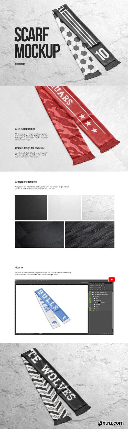 YellowImages - Scarf Mockup - 83498