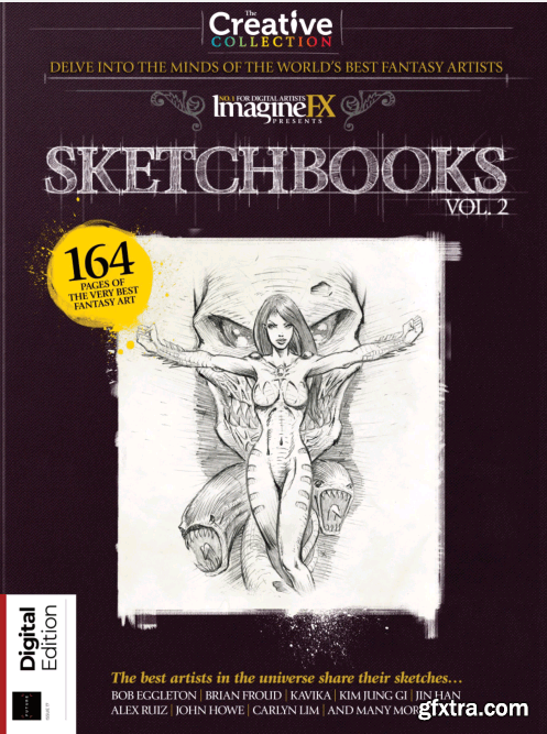 ImagineFX: Sketchbooks Volume 2, Issue 17, 2021