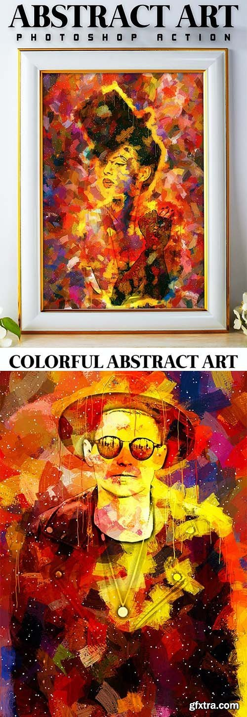 GraphicRiver - Abstract Art Photoshop Action 26121789