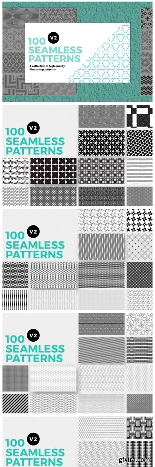 100 Seamless Photoshop Patterns 11712041