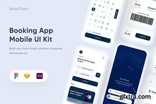 Booking Mobile App - Uixasset