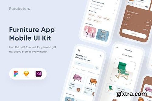 Furniture Mobile App - Uixasset