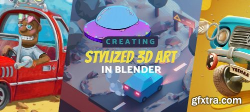 Gumroad – Create Stylized 3D Art in Blender