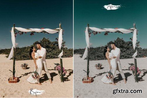 CreativeMarket - 15 Photoshop Action ACR Malibu 6111576