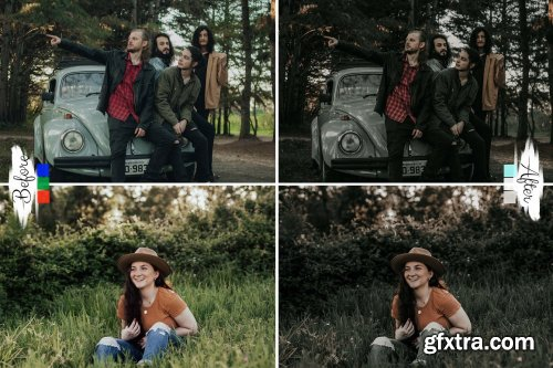 CreativeMarket - 10 Lightroom Presets Neo Deep Moody 6113996