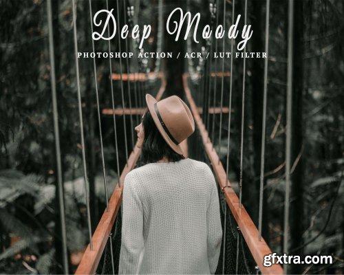 CreativeMarket - 10 Ps Actions ACR LUT Deep Moody 6114018