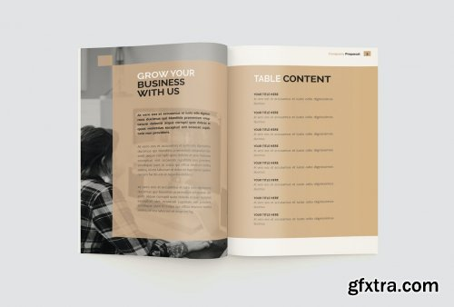 The Company Proposal Brochure