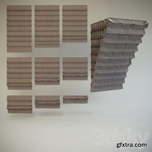 Roman blinds # 4