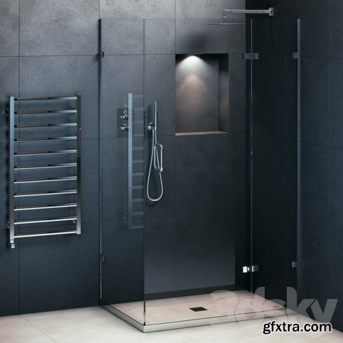 Majestic Showers Portofino fully equipped