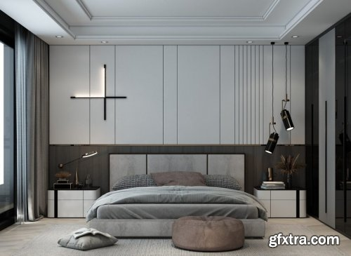 Bedroom 07 By Huy Hieu Lee