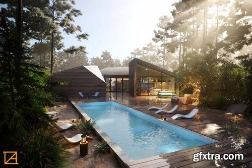 Pool House Scene