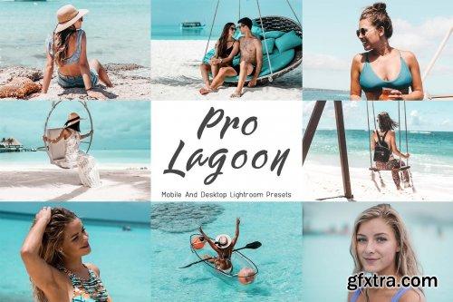 CreativeMarket - 10 Mobile Lightroom Presets Neo Lagoon 6135062