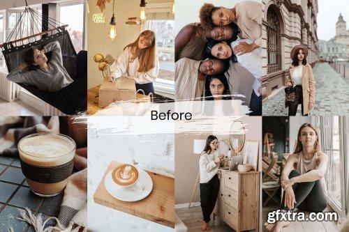 CreativeMarket - 15 Mobile Lightroom Presets Caramel 6133561