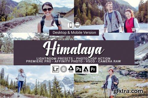 CreativeMarket - Himalaya Lightroom Presets 5157298