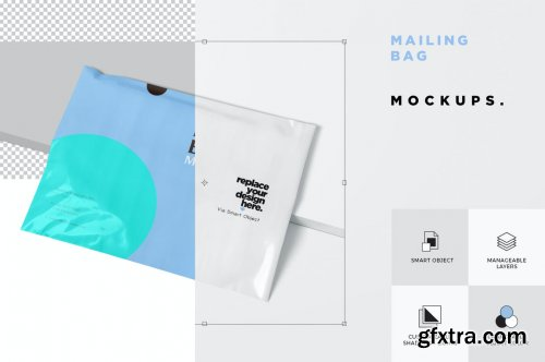 Mailing Bag Mockups