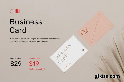 CreativeMarket - Business Card Mockups Vol.1 6154072