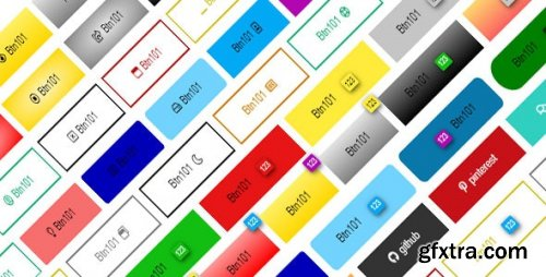 CodeCanyon - Web Packet 1 - Css Buttons 25185662