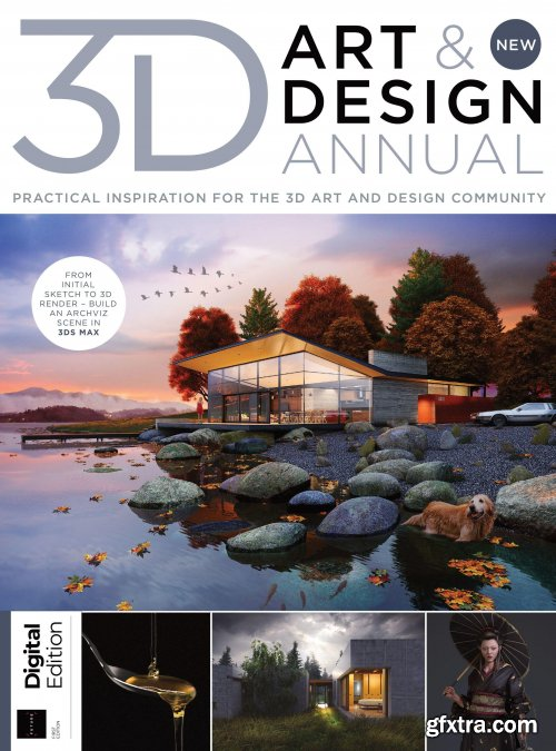 The 3D Art & Design Annual - First Edition 2021