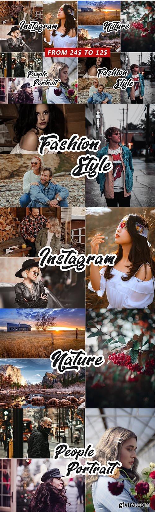 CreativeMarket - 4 IN 1 Photoshop Actions Bundle 5810759