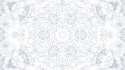 Videohive - White Kaleidoscopic Abstract Background - 32471454 - 32471454