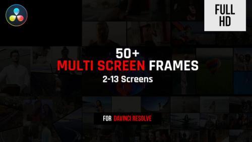 Videohive - Multi Screen Frames Pack - 32399508 - 32399508