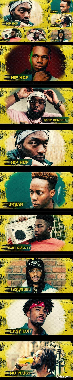 Videohive - Grunge Urban Opener  / Hip-Hop / Brush  / Slideshow / Street - 32085523