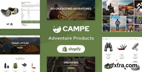 ThemeForest - Campe v1.0 - Camping & Adventure Shopify Theme (Update: 8 February 21) - 28995133