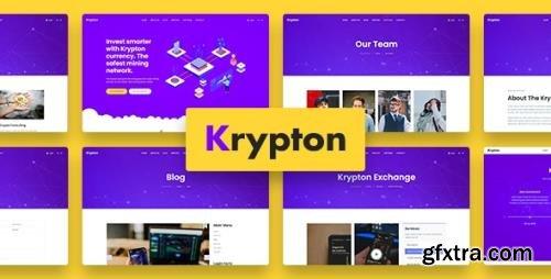 ThemeForest - Krypton v1.0.0 - Bitcoin Crypto Currency Joomla Template - 32280799