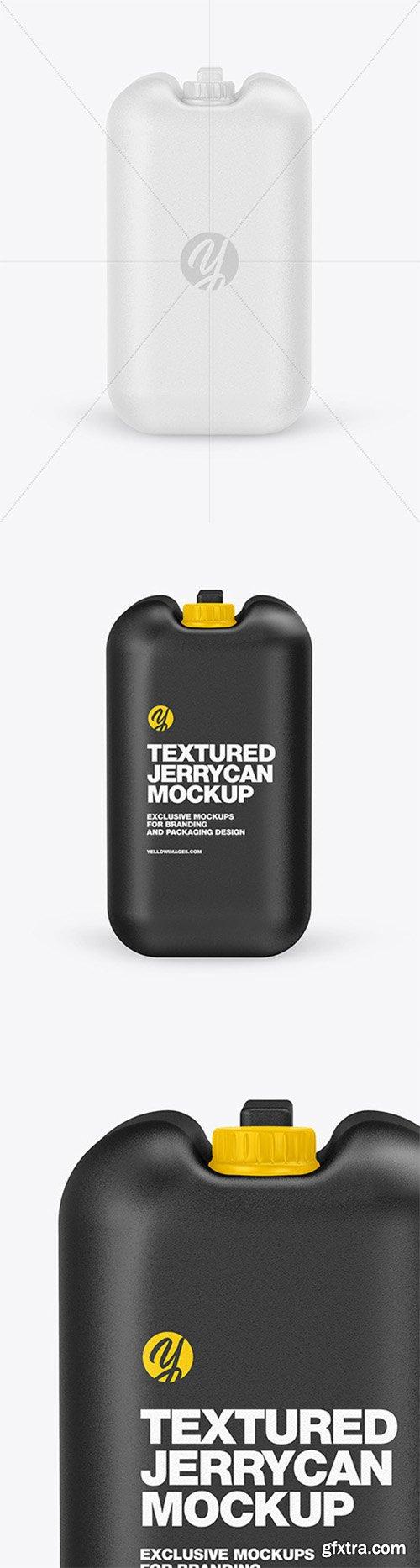Textured Jerrycan Mockup 79910