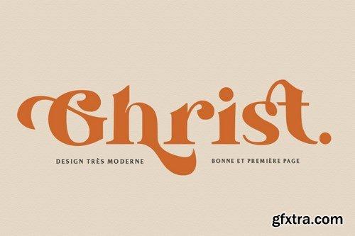 CM - Ghrist - Elegant Bold Serif 6191604