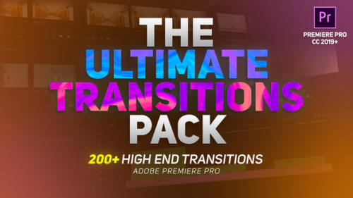 Videohive - The Ultimate Transitions Pack - Premiere Pro - 32484655 - 32484655