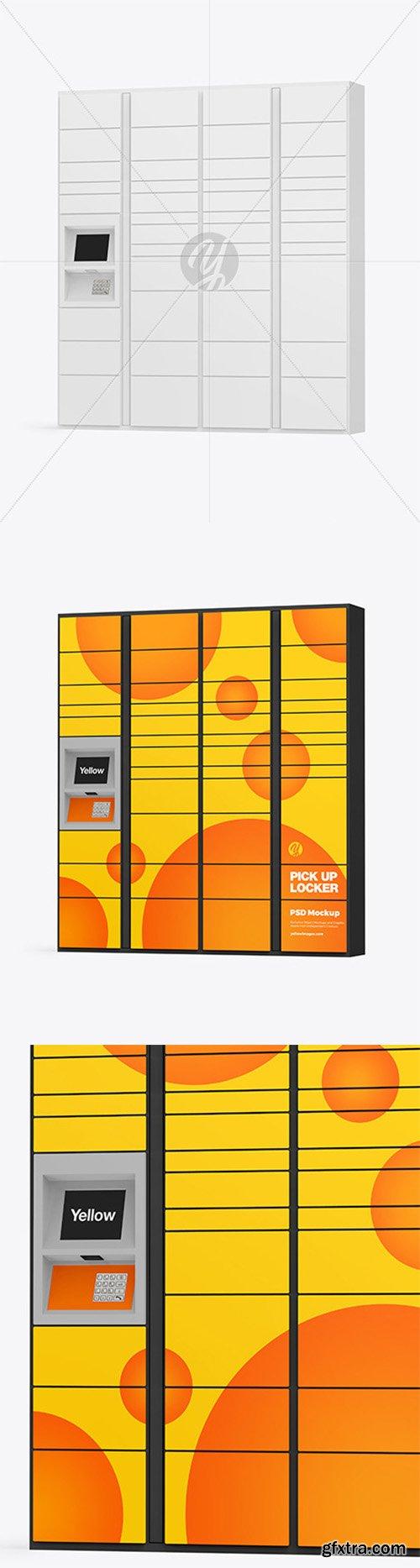 Pick Up Locker Mockup 80214