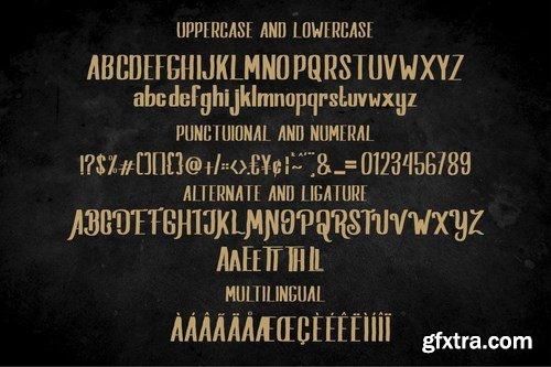 Salvados - Slab Serif Font