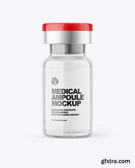 Medical Ampoule Mockup 80634