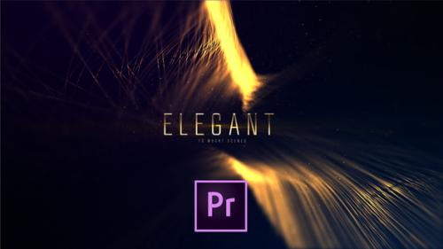Videohive - Elegant Lines Titles   Premiere - 24414253 - 24414253