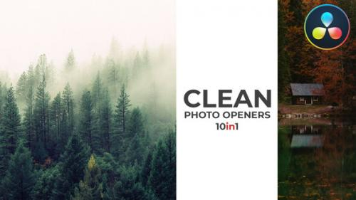 Videohive - Clean Photo Openers - Logo Reveal - 32096846 - 32096846