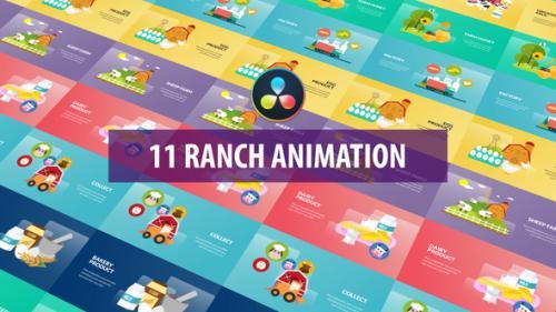 Videohive - Ranch Animation | DaVinci Resolve - 32580131 - 32580131