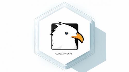 Videohive - Simple Hexagon Logo - 32580365 - 32580365