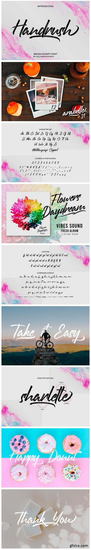 Handrush Font