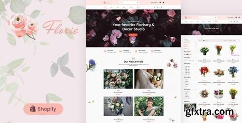 ThemeForest - Florie v1.0 - Flower Shop, Florist Shopify Theme (Update: 19 January 21) - 28564911