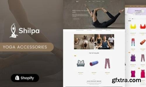 ThemeForest - Shilpa v1.0 - Yoga Store & Fitness Shopify Theme (Update: 1 February 21) - 28637078