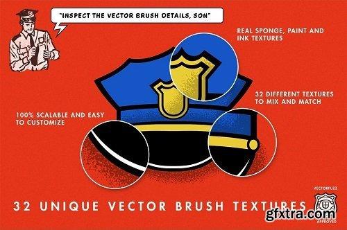 Retro Supply - Vector Fuzz for Illustrator