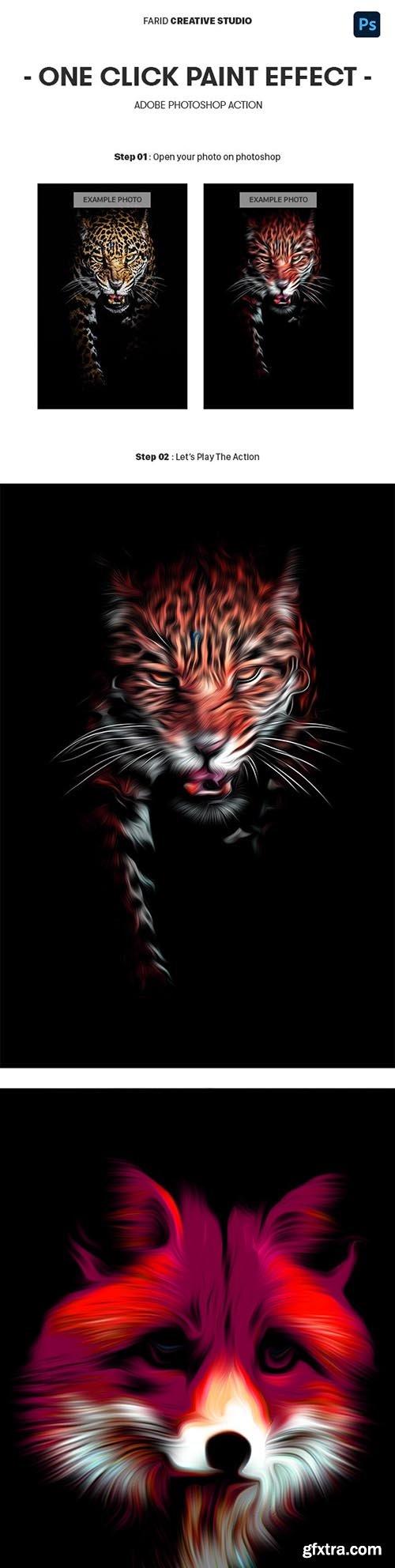 GraphicRiver - Paint Effect Photoshop Action 31781391