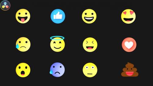 Videohive - Emojis Pack - 32590533 - 32590533