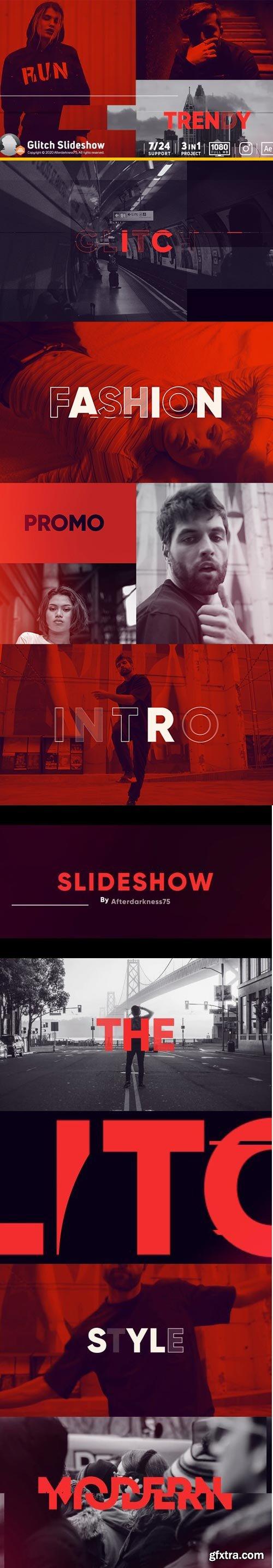 Videohive - Glitch Photo Slideshow - 25595316