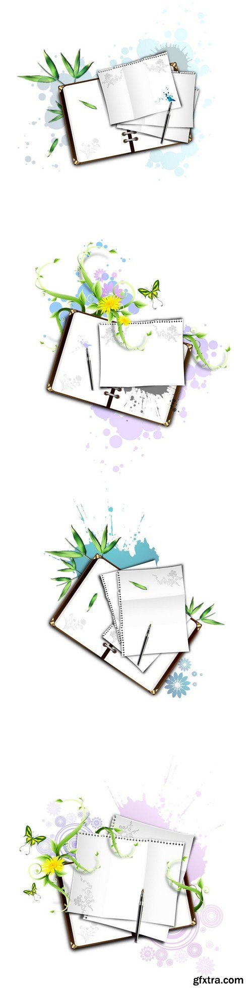noteBook and paper