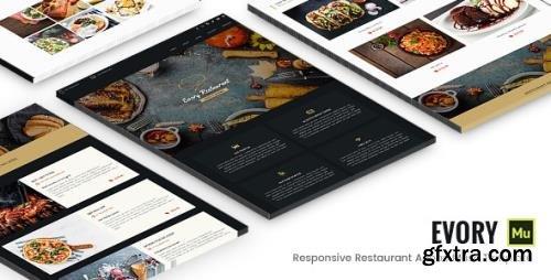 ThemeForest - Evory v1.0 - Responsive Restaurant Adobe Muse Template (Update: 15 March 17) - 19520226