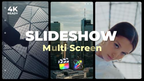 Videohive - Multi Screen Slideshow - 32543633 - 32543633