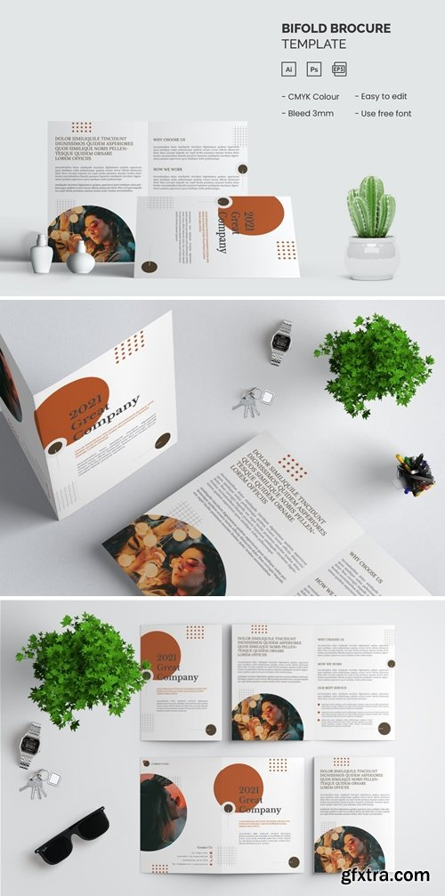 Great Business - Bifold Brochure Template