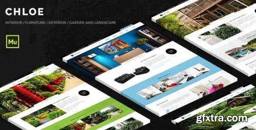 ThemeForest - Chloe v1.0 - Interior and Exterior Muse Template (Update: 7 August 19) - 11423463